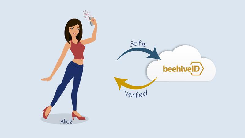 BeehiveID selfie verified