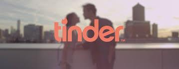 Tinder logo with background