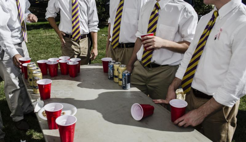 Fraternity boys
