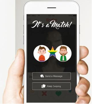Gay dating app
