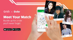 Tinder grab partnership