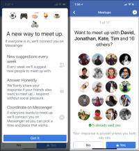 Facebook meetups