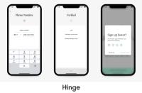 Hinge without fb screenshots