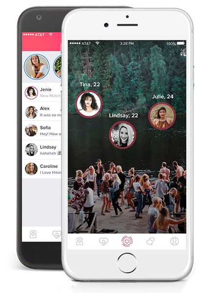 Internationale online-dating-app