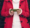 Young woman on mobile phone