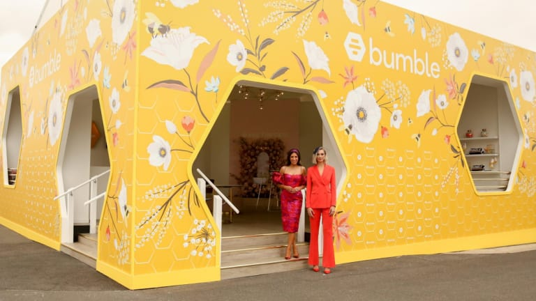 Bumble booth melbourne cup