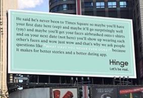 Hinge billboard