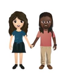 Tinder interrracial emoji