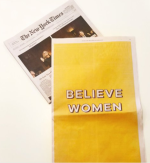Bumble believe women nyt ad