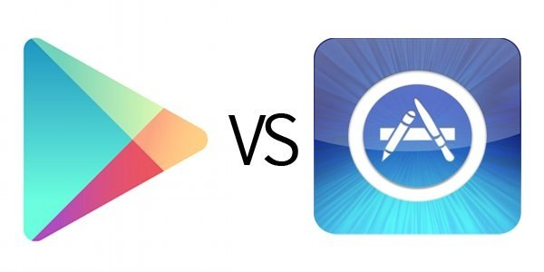 Google play vs appstore