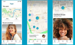 Happn maps