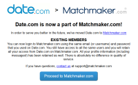 Datecom to matchmakercom