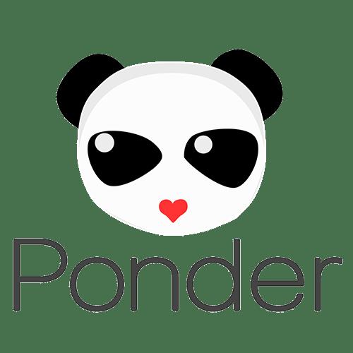 Ponder app logo