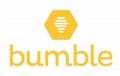 Bumble logo white