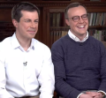 Pete Buttigieg with husband