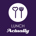 Lunch actually logo 2019