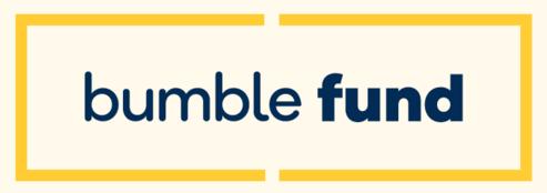 Bumble fund logo yellow
