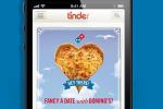 Tinder domino pizza campaign