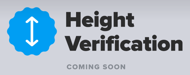 Tinder hight verification