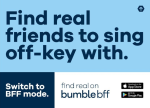 Bumble bff india campaign