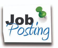 Job post Apr 19