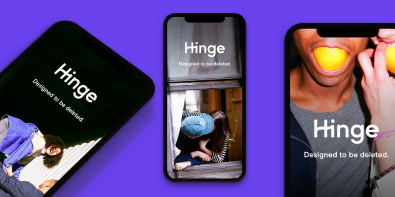 Hinge screenshots 2019