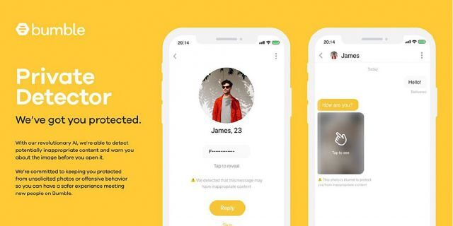 Bumble private detector