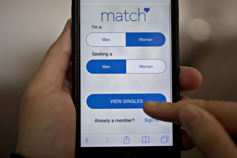 Matchcom app screenshot
