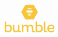 Bumble logo white