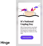 Hinge go on date payment