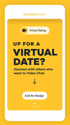 Bumble virtual dating