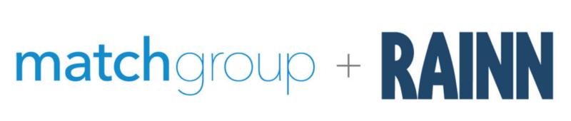Match group rainn logos
