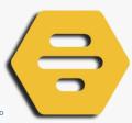 Bumble logo plastic