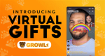 Growlr virtual gifts