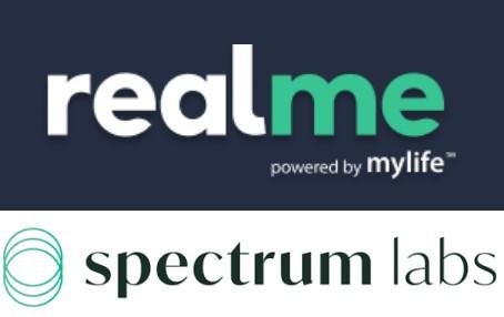 Realme spectrumlabs logos