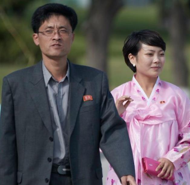 Noth korean couple