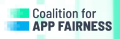 Coalition for App Fairness logo