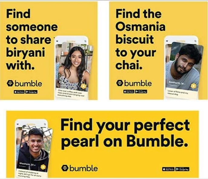 Bumble ads