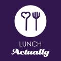 Lunch actually logo 2019