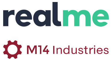 Realme m14 logos