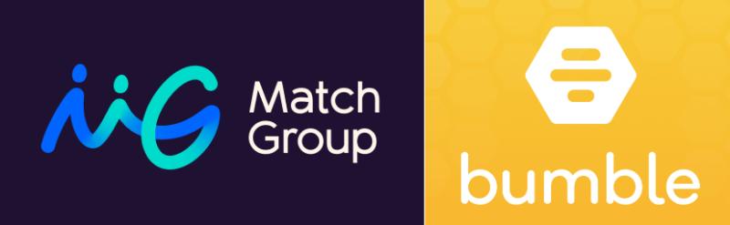Match Group Bumble logos