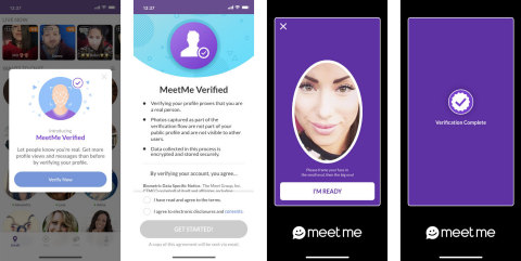 Meetme verified profile