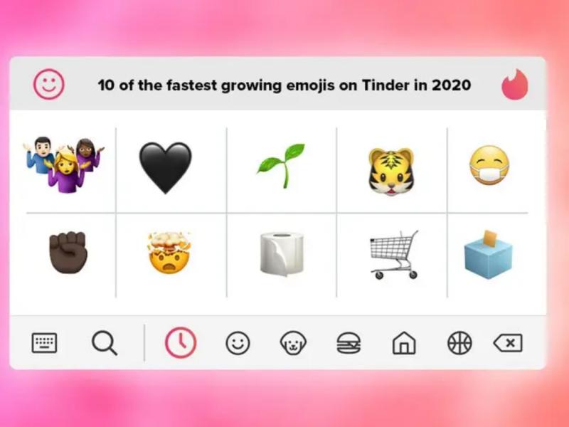 Tinder emojis