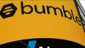 Bumble logo on a building